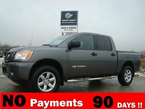 2014 Nissan Titan Crew Cab S 4X4 Only $77 Weekly $0 Down