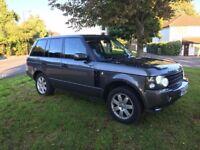 Range Rover 4.4 Vouge V8 DVD Parking Aid Hid Lights Leather Trim Air Suspension Venture Cam Sat Nav