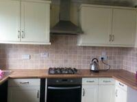 9 cream shaker style kitchen units