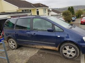 Ford Galaxy, Diesel, Blue, 52 Plate, £500