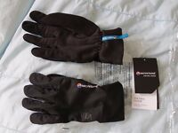 Montane - Via Trail Gloves Black Mens Large Running Cycling