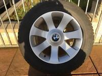 "BMW X5 X6 Winter Wheels & Tyres 18"""