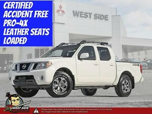 2016 Nissan Frontier PRO-4X–Accident Free–4WD–4.0 V6–$125/WEEK