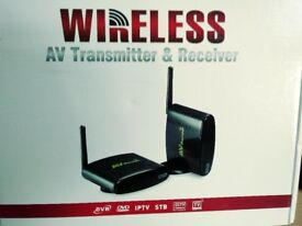 Wireless AV Transmitter & Receiver for TV etc.