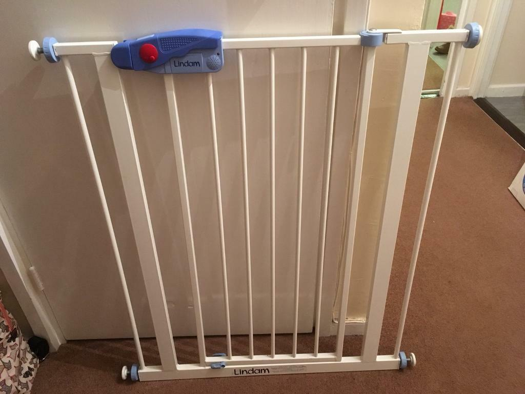 Lindham Easy Fit Tall Alarm Stair Gate In Portsmouth Hampshire