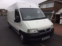 FIAT DUCATO 2.8TD clean and tidy van 2004 MOT to NOV2016 + RELAY for parts (85k mileage) // 2vans!