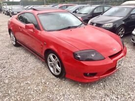 Hyundai 2.0 SE Coupe 3dr. FSH. 2 KEYS. FULL LEATHER INTERIOR. LOW MILEAGE. 1/P OWNER. SUNROOF