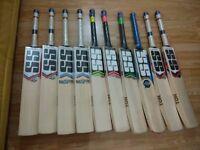 SS TON & SF English Willow Cricket Bats - Premium grade English willow - 100% original !!