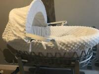 Cuddles collection Moses basket