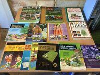 Selection of Garden Books