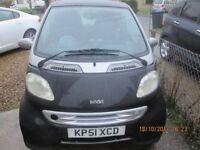 2002 SMART CAR PASSION SOFT TOUCH SEMI AUTO COUPE