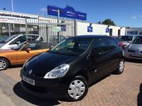 2007 57 RENAULT CLIO 1.2 LOW TAX INSURANCE GROUP ! SMART LITTLE CAR FOR NEW DRIVER CHEAP ECONOMICAL!