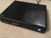 Xbox one console and controller (good condition)