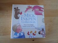 Box set Mick Inkpen childrens books