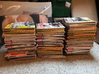 180+ RECORD COLLECTOR MAGAZINES - SOME EARLY ONES - BARGAIN £30 COLLECTION FROM NE25