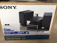 Sony HCD-BX70DBI DAB - SPEAKERS ONLY - New