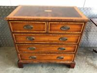 Wooden Chest of Drawers Free Delivery Ldn Solid wood throughout