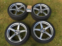 NEW BMW 225/40ZR18 Wheels And Tyres (set of 4) BMW Team Dynamics, New Tyres