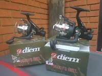 diem fishing reels pair