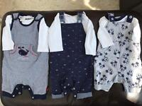 Job lot baby boy clothes newborn- 3 months