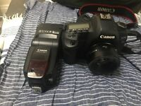Canon 5D mark ii with canon 50mm 1.8 & canon 580ex ii all £850