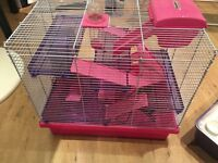 Rosewood poco hamster home