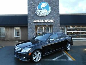 2009 Mercedes-Benz C-Class Base LOOK! FINANCING AVAILABLE!