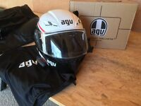AGV Flip-front Motorbike Helmet - with Bluetooth and Action Camera