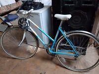Emelle pale blue vintage ladies road bike - FOR SALE