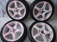 """16"""" Fox Racing Alloy Wheels"""