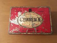 Vintage Craven 'A' Cigarette Tin