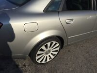 Audi a4, its a 2l petrol , in a good condition , amazin sound system,perfect runner,motfeb2017