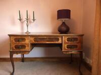 Italian inlaid sideboard/ buffet table/ desk