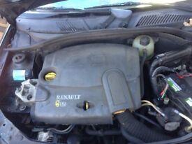 RENAULT CLIO 2005 1.5 DCI COMPLETE ENGINE K9K704