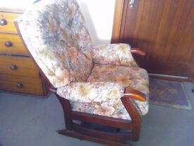 Rocking Chair. Very very comfortable and great for relaxation