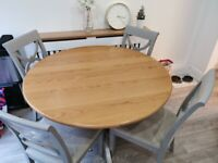 M&S Padstow Round Dining Table