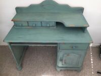 Solid wood desk or dressing table