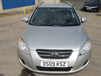 KIA CEED 1.6 GS SW CRDI 5d 89 BHP 2 PREVIOUS KEEPERS + ALLOY WHEELS + FULL SERVICE RECORD