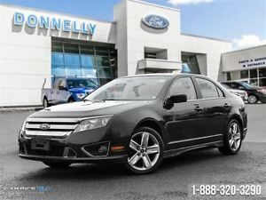 2011 Ford Fusion SPORT AWD, LEATHER, NAV