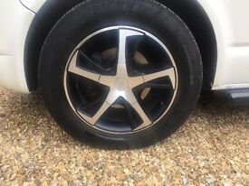 Alloy wheels (load rated)