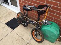 Bumper Firepower Kids Bike 3-6 years