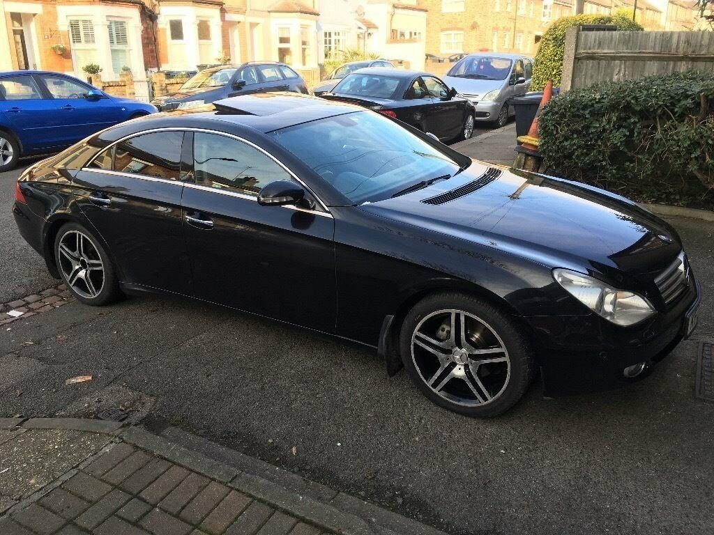 mercedes cls 320 cdi diesel sport amg kit low mileage. Black Bedroom Furniture Sets. Home Design Ideas
