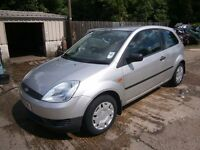 ** NEWTON CARS ** 03 53 FORD FIESTA 1.4 LX TDCI, 3 DOOR, GOOD COND, £30 TAX, MOT OCT 2017, P/EX POSS