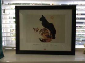 Pretty picture of two cats. Farnham, £5