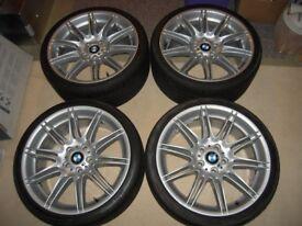 19 inch BMW M Sport staggered Wheel set.