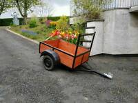 5ftx3.6ft garden trailer