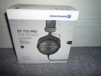 Beyerdynamic DT770 Pro Headphones (pick up only)