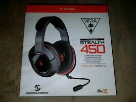 Turtle Beach Ear Force 450 PC Wireless Gaming Headset