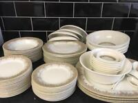 New 90 piece dinner set for immediate sale