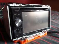 Pioneer Double-din car stereo in good working order..